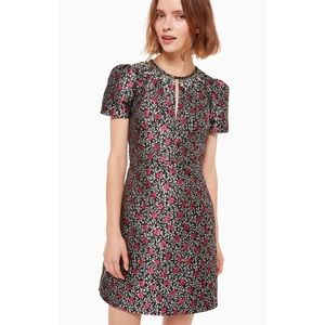 NWOT Kate Spade Floral Park Jacquard Dress Size 16